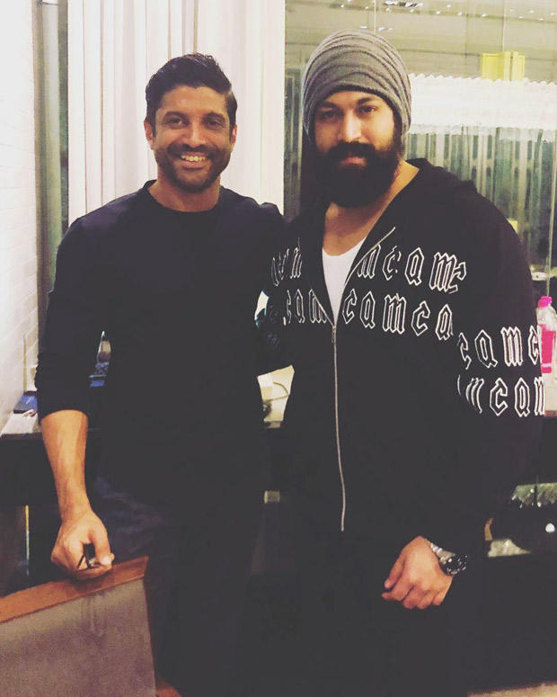 KGF Chapter 2 to come soon! Farhan Akhtar shares post with Yash expressing his excitement for the sequel