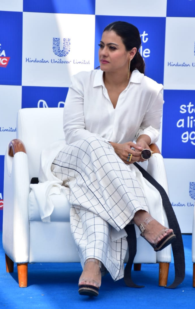 Kajol Devgan in Alaya by Stage 3 shirt and Chola pants for an event (4)