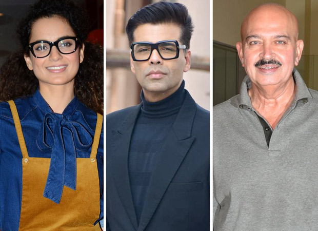 Kangana Ranaut wages another ATTACK on Karan Johar and Rakesh Roshan, claims she is singled out by Bollywood