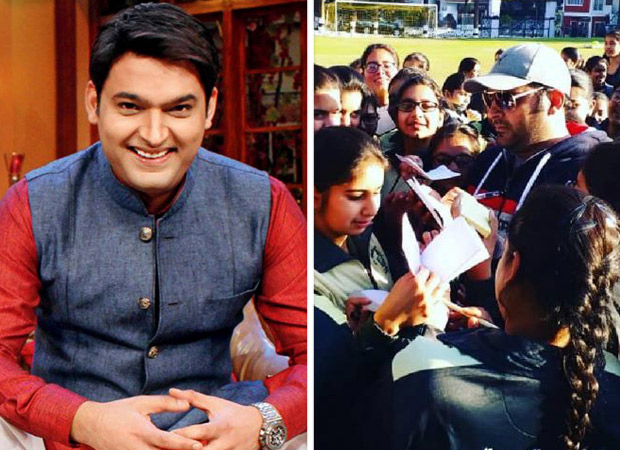 Kapil Sharma hoists National flag on the occasion of Republic Day, signs autographs for his young fans