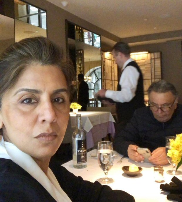 Neetu Kapoor gives a glimpse of what 38 years of marriage with Rishi Kapoor looks like