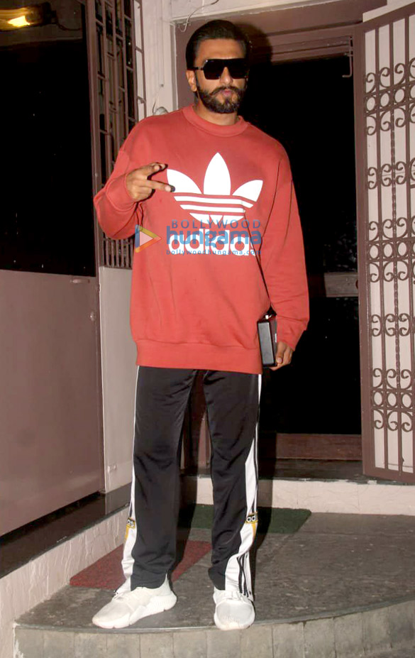 Ranveer Singh and Zoya Akhtar snapped at a dubbing studio in Bandra