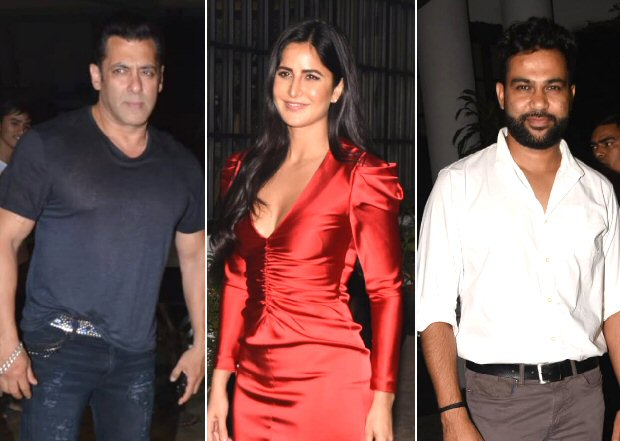 Salman Khan and Katrina Kaif party the night away at the birthday bash of Bharat director Ali Abbas Zafar