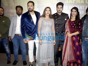 Sapna Chaudhary, Vikrant Anand, Zuber Khan and Anju Jadhav grace the trailer launch of the film Dosti Ke Side Effectss