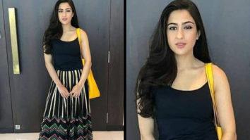 Sara Ali Khan goes boho chic in a Global Desi skirt (Featured)