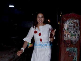 Sara Ali Khan snapped at Kitchen Garden