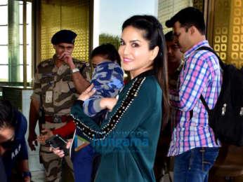 Shilpa Shetty, Sara Ali Khan, Shamita Shetty and others snapped at the airport