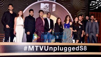 Sonu Nigam, Guru Randhawa and others attend the launch of MTV Unplugged Season 8