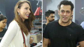 Superstar Salman Khan, Arbaaz Khan and Iulia Vântur at Fitness Challenge held by Being Human