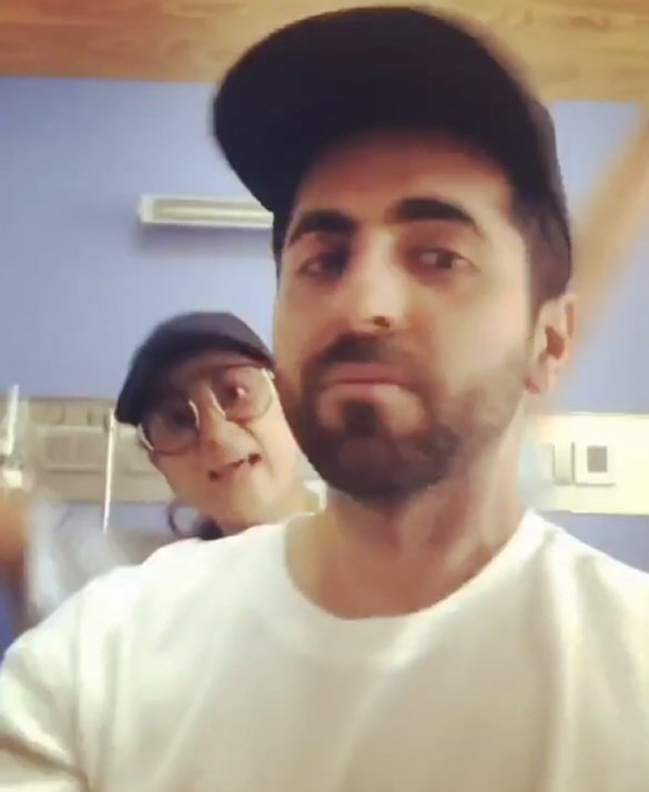 Tahira Kashyap jumps with joy as she celebrates with Ayushmann Khurrana after her final chemotherapy session