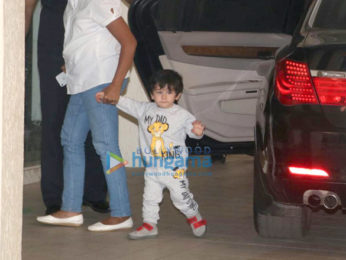 Taimur Ali Khan spotted at Khar