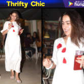 Thrifty Chic - Sara Ali Khan in INR 2,100 white gown with red tassels from Spring Diaries Store (Featured)