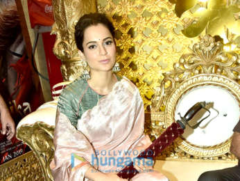 Trailer launch of the film Manikarnika – The Queen Of Jhansi
