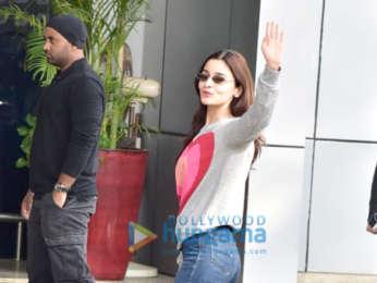 Varun Dhawan, Alia Bhatt and Sonam Kapoor Ahuja snapped at the airport
