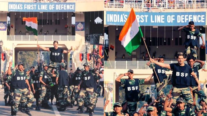 Varun Dhawan performs to Hindustani at INDIAN Border (2)