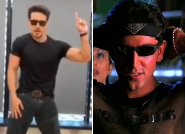 WOAH! Tiger Shroff's recreation of 'Ek Pal Ka Jeena' on his idol Hrithik Roshan's birthday will make you GROOVE