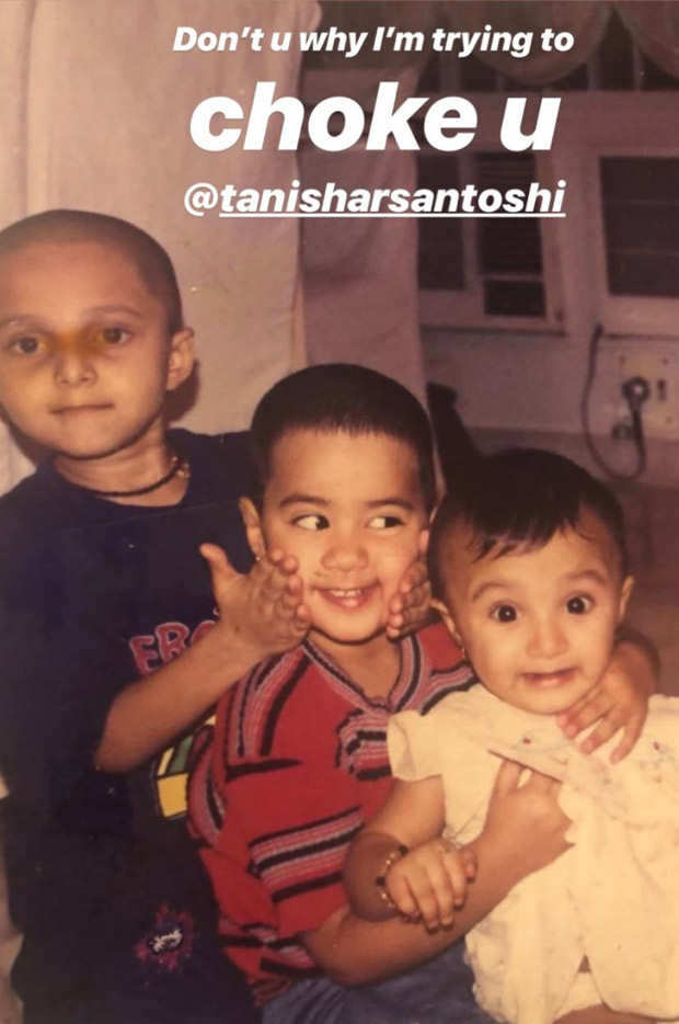 Throwback: Janhvi Kapoor shares a CHILDHOOD picture with bestie Tanisha Santoshi