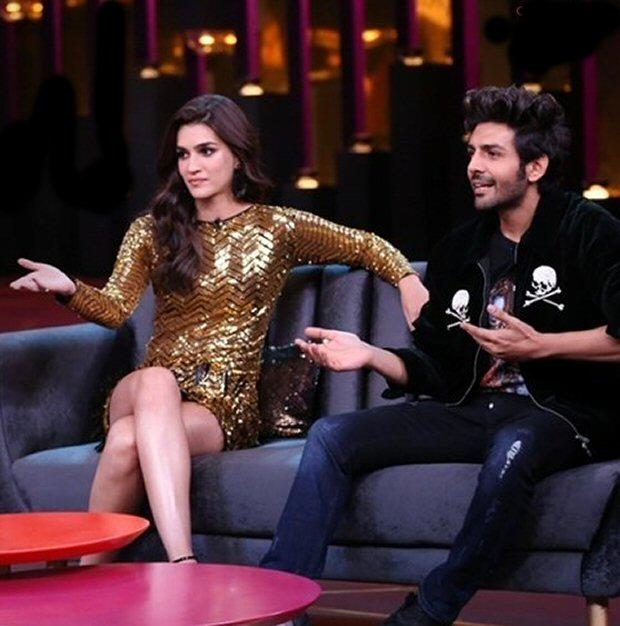 Koffee With Karan 6: Kartik Aaryan CONFESSES why he asked out Ananya Panday and NOT Sara Ali Khan, Kriti Sanon to date Aditya Roy Kapur?