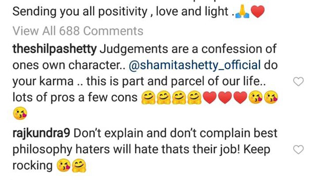 Shilpa Shetty Kundra comes out in support of sister Shamita Shetty after she got slammed for misbehaving with a fan