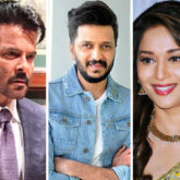This picture of Riteish Deshmukh fanboy-ing over Anil Kapoor and Madhuri Dixit is all you need to see