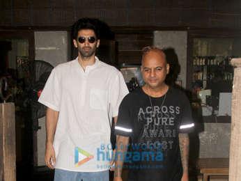 Aditya Roy Kapur spotted at a salon in Bandra