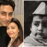 Aishwarya Rai Bachchan wishes her 'baby' Abhishek Bachchan on his birthday with a childhood photo