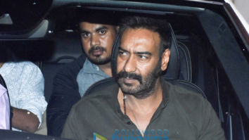 Ajay Devgn and Indra Kumar grace the special screening of 'Total Dhamaal'