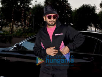 Alia Bhatt, Ranveer Singh, Anushka Sharma and others snapped at the airport
