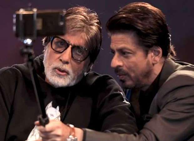 Amitabh Bachchan and Shah Rukh Khan's unplugged banter is all about Badla and spilled secrets! (Watch video)