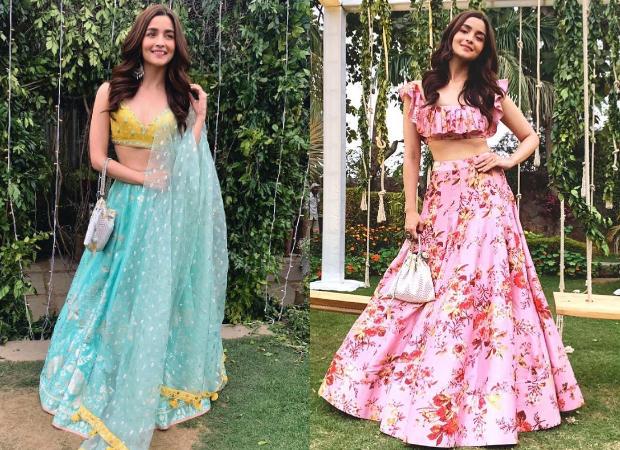 Best Dressed - Alia Bhatt in Anita Dongre and Anushree Reddy for her best friend Devika Advani's pre-wedding festivities in Delhi