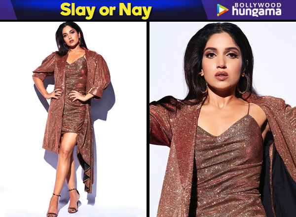 Bhumi Pednekar in Aniket Satam separates for Sonchiriya promotions on Super Dancer Chapter 3 (Featured)