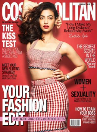 Radhika Apte On the covers Cosmopolitan