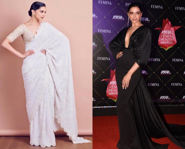 Deepika Padukone looks glamorous in black Amit Aggarwal gown for Nykaa-Femina Beauty Awards 2019 (4)