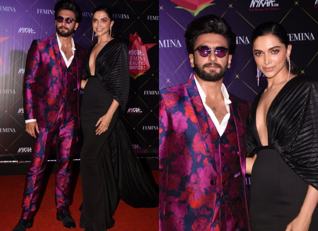 Deepika Padukone looks glamorous in black Amit Aggarwal gown for Nykaa-Femina Beauty Awards 2019 (6)