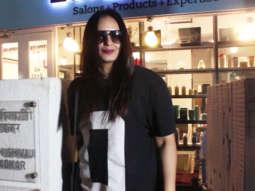 Huma Qureshi SPOTTED at B-Blunt Salon, Khar