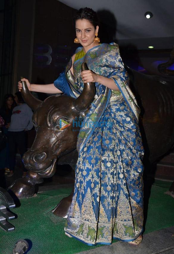 Kangana Ranaut and Ankita Lokhande snapped at Bombay Stock Exchange in Fort (7)
