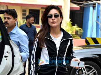 Kareena Kapoor Khan and Amrita Arora spotted outside the gym in Bandra