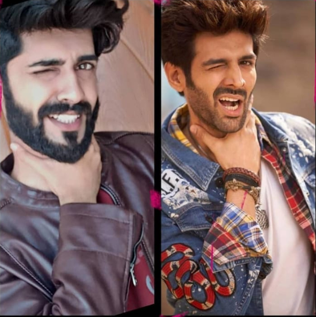 Kartik Aaryan's fans are recreating his signature style and he is loving it