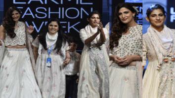Kubra Sait and Ahana Kumra for Gazal Mishra at LFW Summer Resort 2019 (4)