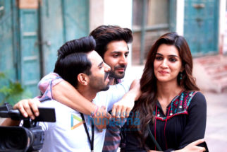On The Sets from the movie Luka Chuppi