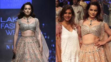 Manikarnika Star Kangana Ranaut's GRAND Entry at Lakme Fashion Week Day 4