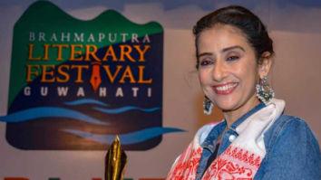 Manisha Koirala attends 3rd Brahmaputra Literary Festival in Assam