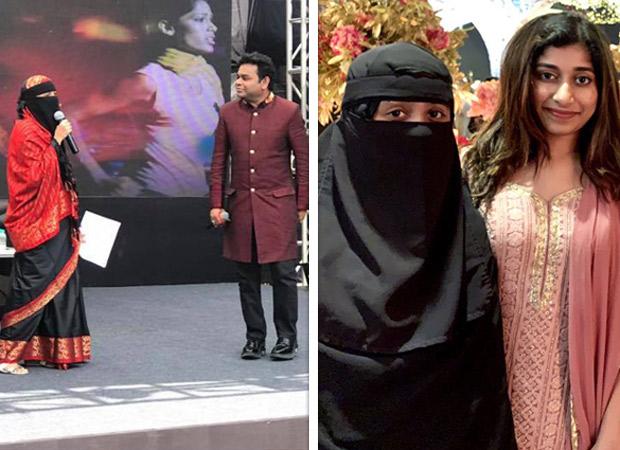 A R Rahman defends his daughter Khatija's choice to wear a niqab