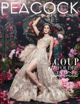 Taapsee Pannu On The Covers Peacock Magazine