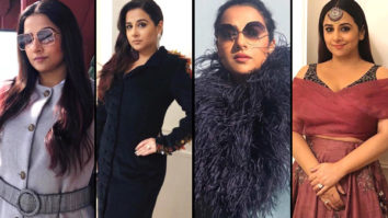 Playing Dress Up - Vidya Balan in Karleo for Akash Ambani - Shloka Mehta wedding at St.Moritz (Featured)
