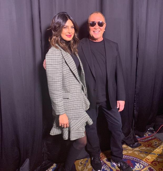 Priyanka Chopra in Michael Kors for NYFW Fall_Winter 2019 (3)