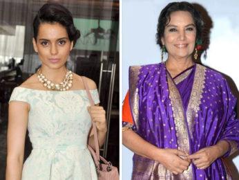 Pulwama Attack: Kangana Ranaut calls Shabana Azmi anti-national; Shabana Azmi responds back