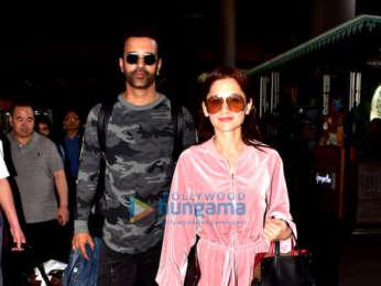 Rakul Preet Singh, Sanjeeda Sheikh and Aamir Ali snapped at the airport