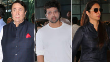 Randhir Kapoor, Himesh Reshammiya, Tabu and others at Rajkumar Barjatiya's Prayer Meet