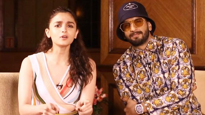 Ranveer Singh RAPS like a Pro and Alia Bhatt goes Gulu Gulu at her shy Gully Boy!